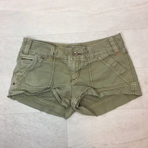 American Eagle Shorts Sz 6 Khaki Safari Casual